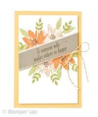 Stampin Up Sale-a-Bration Gartengrüße