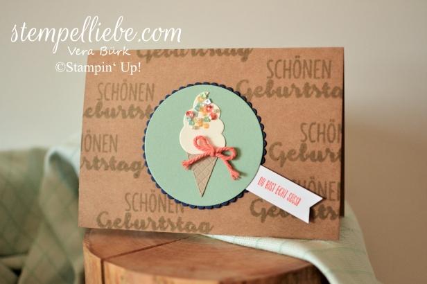 Karte Eis Stampin Up Vera Bürk 1