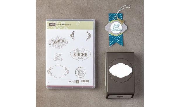 Produktpaket Quartett fürs Etikett