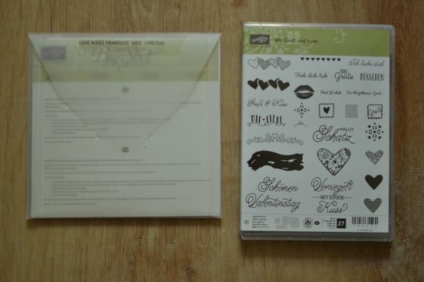 Produktpaket Mit Gruß und Kuss