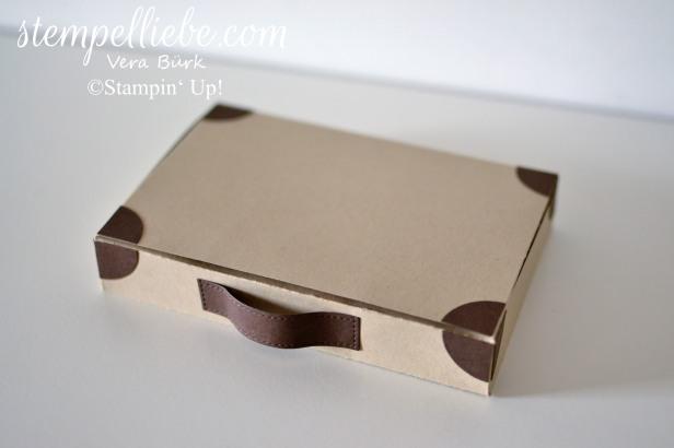 Box ohne Kleben als Koffer Stampin Up Vera Bürk 3)
