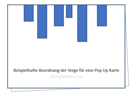 Pop Up Stege Zeichnung