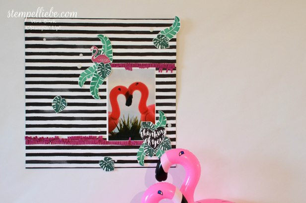 Flamingo Scrapbook OnStage 2017 Schauwand Vera Bürk 2