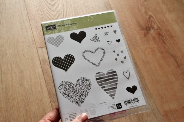 Stampin Up Heart Hapiness