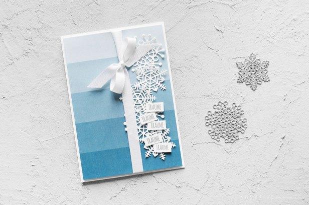 stampin-up-karte-schneeflocken-winter-traeume kreativ format gewebtes geschenkband