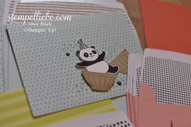 Tutti Frutti Party Panda SAB 2018 blau