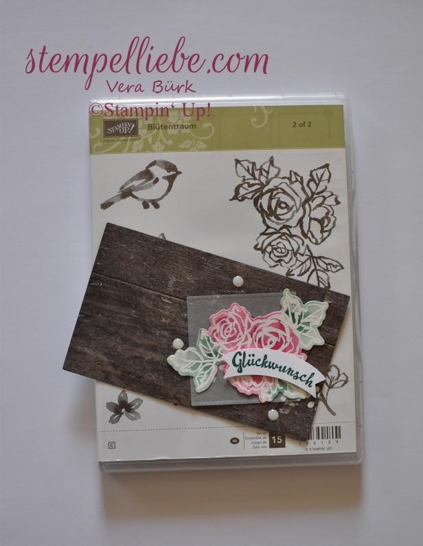 Lieblinge FSK201718 Blütentraum Stempelset Stampin Up