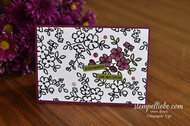 Stampin Blends Blumen Muttertag Bannerweise Grüße