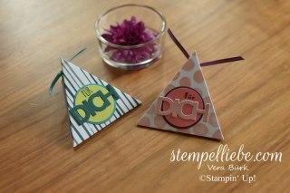 Stampin Up Dreieckstasche Allerliebst für Dich