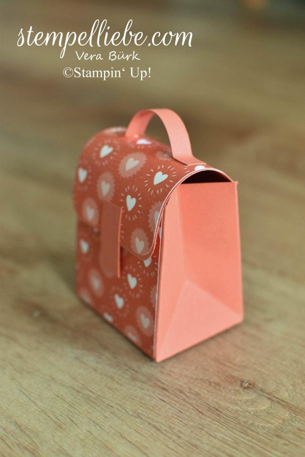 Ranzen Schulranzen Rucksack selbermachen Stampin Up