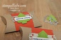 weihnachtliche Kissenschachtel Pillowbox Stampin Up